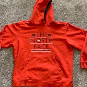 Gently Worn North Face Thick Hoodie Sweatshirt
